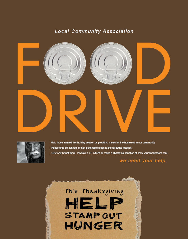 Doc.#500773: Can Food Drive Flyer Template – 1000 images about ...