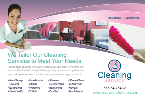 Sample flyer for cleaning services zrom accmission Image collections