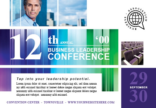 Business Leadership Conference Flyer