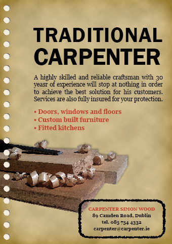 Carpenter Advertisement