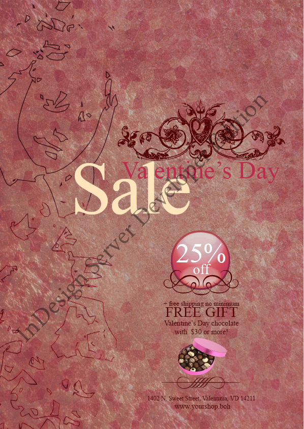 Valentine's Day Roses V2 Flyer